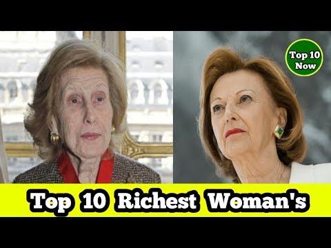 10 Richest Woman in  2017 | Top Richest Girls in World | Updated