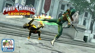Power Rangers Legends - Mighty Morphin Battles with the Green Ranger (iOS Gameplay, Playthrough)
