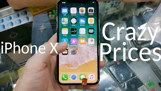 China Biggest Refurbished Phone Market iPhone X Crazy Prices 📱