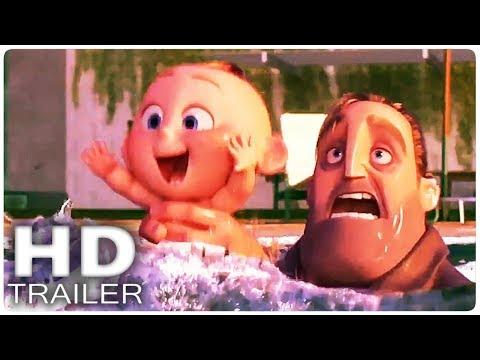 LOS INCREIBLES 2: Nuevo Trailer + Clip Español (2018)