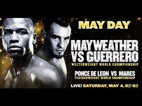 Abner Mares Exclusive Interview  | Mayweather Vs. Guerrero May 4th, 2013 Card | Spanish News Media