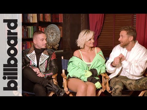 David Guetta, Bebe Rexha & J Balvin Go Behind the Scenes of Their 'Say My Name' Video | Billboard