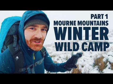 Wild Camping In Winter, Mourne Mountains Part 1