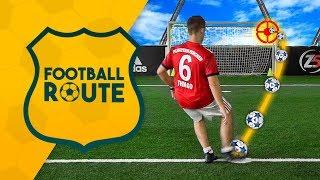 ⚽️ FOOTBALL ROUTE CHALLENGE! NUOVA SERIE sul CAMPO da CALCIO w/Ohm & T4tino23