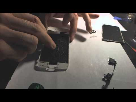 Iphone 5 Replace Front Glass The Cheapest Way Without UV Glue And Mold