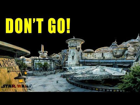 STAR WARS: GALAXY'S EDGE, HONEST REVIEW AND WALK THROUGH!