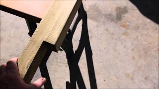 Build A Headboard From Old Door