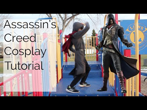 Assassin's Creed Cosplay Youth Halloween Costume Tutorial