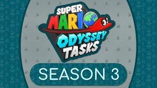 Super Mario Odyssey Tasks - SEASON 3 Teaser!