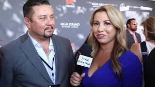 ERIC GOMEZ CEO OF GOLDEN BOY ON CANELO vs KOVALEV & RYAN GARCIA NEW CONTRACT