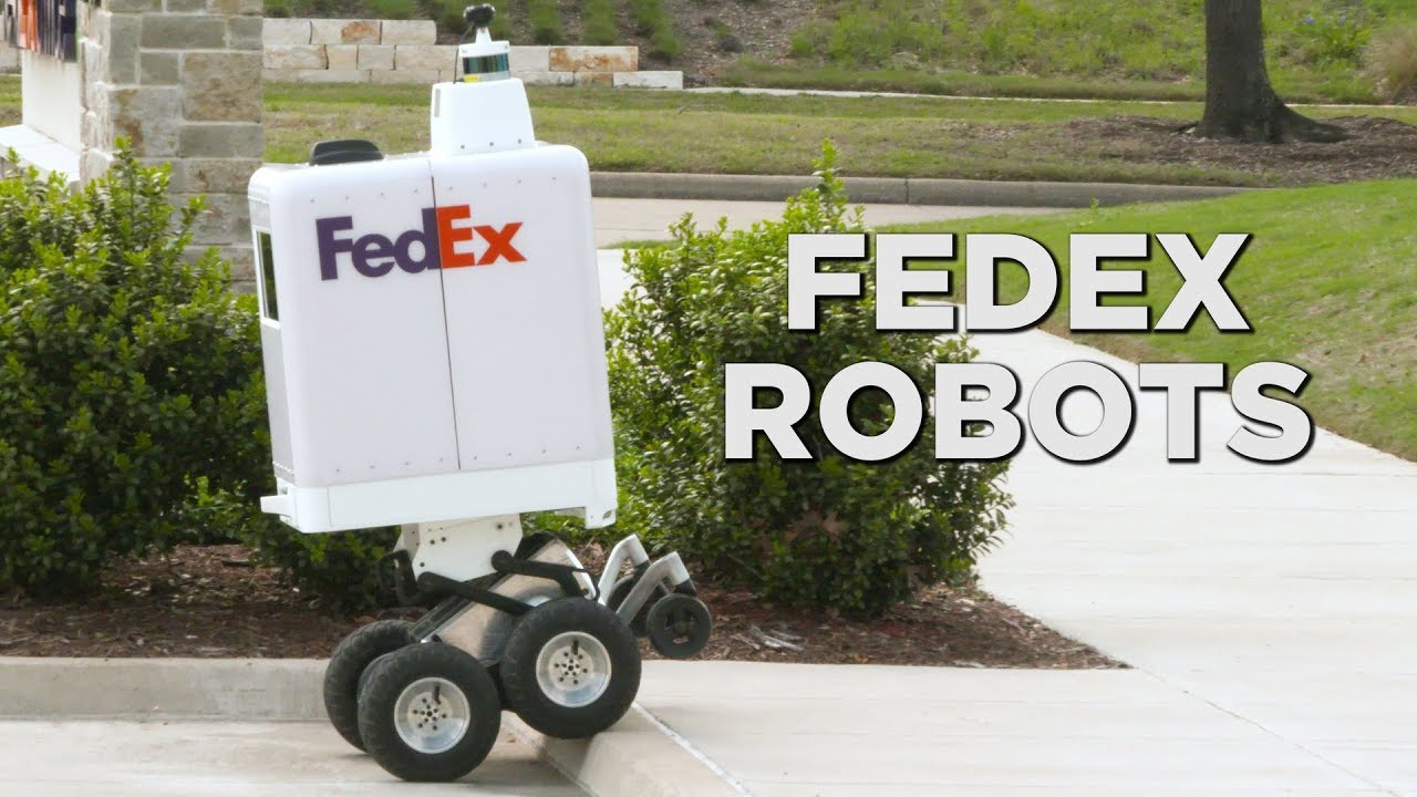 TEXAS TESTING ROBOT DELIVERY SERVICE