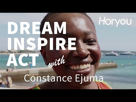 Constance Ejuma @ Cannes 2014 - Dream Inspire Act by Horyou