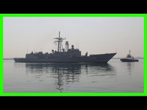 [News 2017] Turkish warship arrives in doha