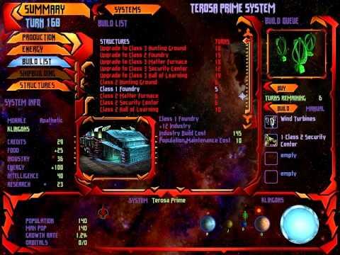 Star Trek Birth of the Federation - Part 7 Klingons ...