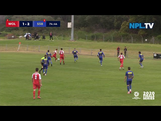Semi-Final - NPL NSW Men's – Wollongong Wolves v Sydney United 58