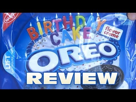 Birthday Cake Oreo Cookies Review: Oreo Oration