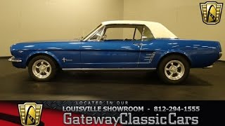 1966 Ford Mustang - Louisville Showroom -  Stock # 1290