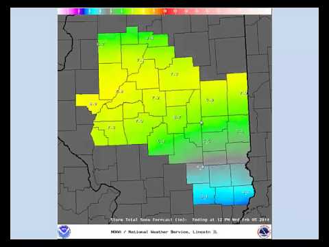 NWS Lincoln Multimedia Briefing for 2-3-14 at 3:30 AM