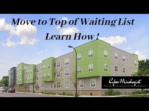 How To Qualify For Low Income Housing - Score High On Priority Waiting List