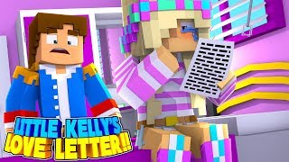 Minecraft LEAH FINDS DONNY'S SECRET LOVE LETTER FROM LITTLE KELLY!!