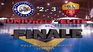 Calcio a 5, Finale Juniores: Carlisport Cogianco - Roma c5, highlights e interviste