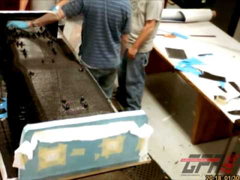 GFR10 Monocoque construction