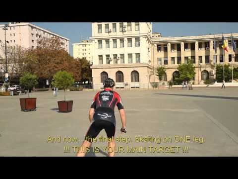 Inline speed skating - exercises from beginners to advanced - 2015