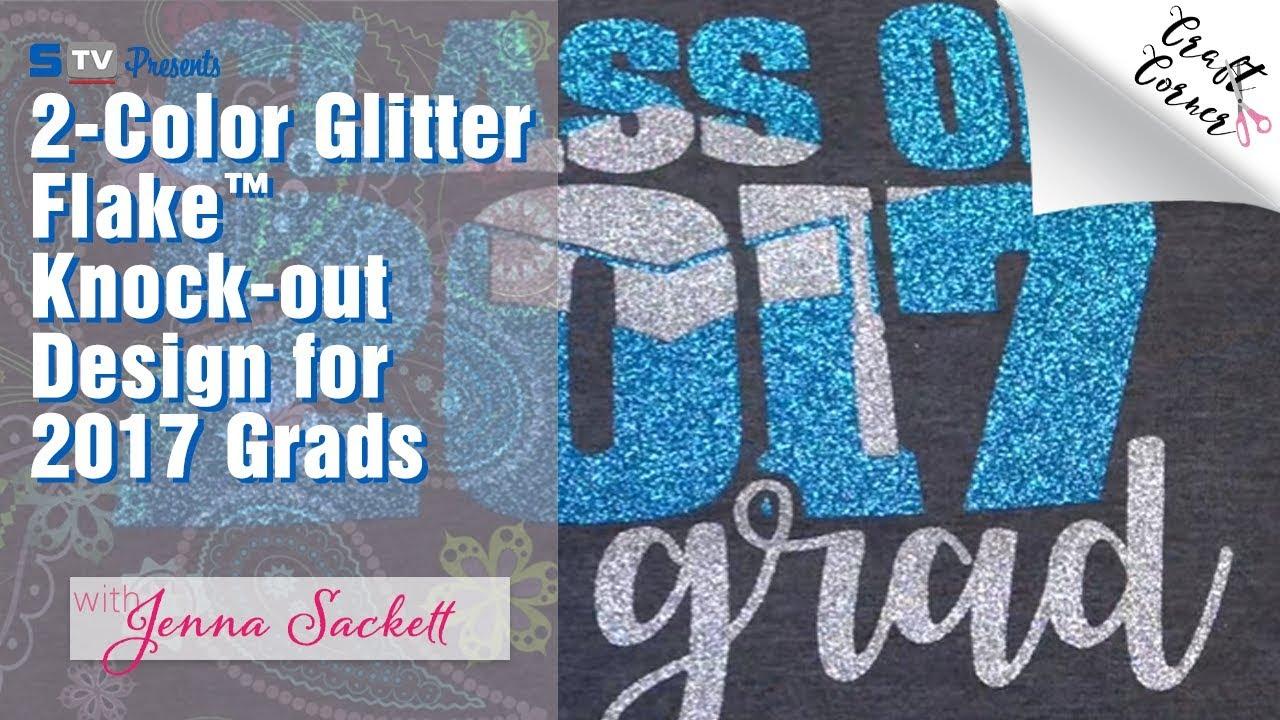 ROSE GOLD Glitter Flake HTV Stahls T-Shirt Iron On Heat Transfer Vinyl Sheets