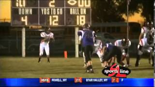 HS football, Shelley vs Snake River