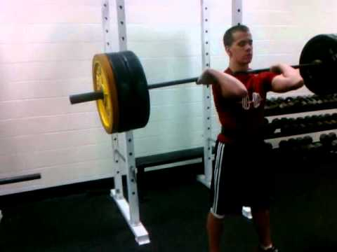 Sam campese front squats 275