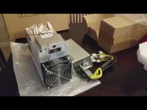 Mining over $400/day with the new Antminer A3 from Bitmain  Unboxing -  setup - and hashing @ 850Gh