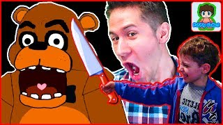 - Страшный МИШКА напугал в игре 5 Ночей с Фредди от Фаника Five Nights at Freddy s 2
