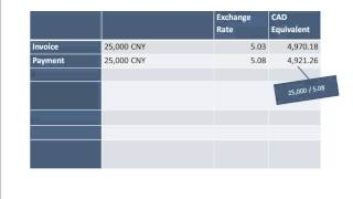 Accounting for Foreign Exchange Gains and Losses for Sage 300
