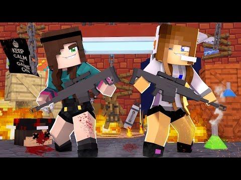Minecraft: MURDER - MENINAS SNIPERS!
