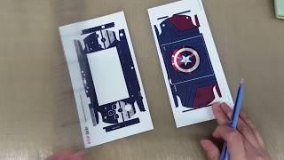 SONY PSP-2000 Captain America Edition POP SKIN by 부착맨