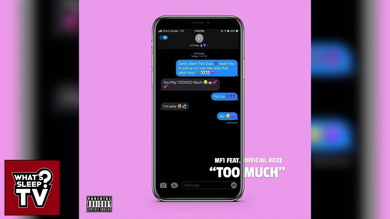 MF1 feat. Official Roze - Too Much