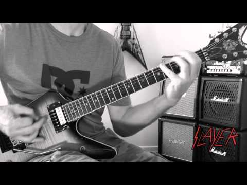 Slayer - Raining Blood Guitar Cover