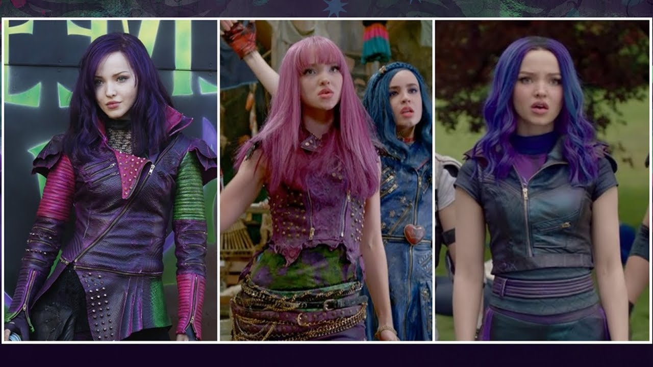 Descendentes 1 Vs Descendentes 2 Vs Descendentes 3 I Trailer Youtube