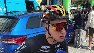 Tim Merlier forud for første etape i PostNord Danmark Rundt 2019