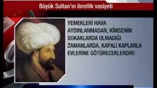 Fatih Sultan Mehmet'ten Ibretlik Vasiyeti!