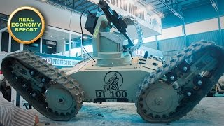 New SA-developed unmanned ground vehicle for military use unveiled