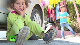 Беженцы из Сирии отправляются в Ливан в поисках лучшей жизни