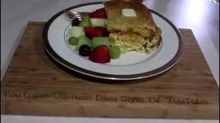 Cornbread Topped Breakfast Bake In The Casserole Slow Cooker