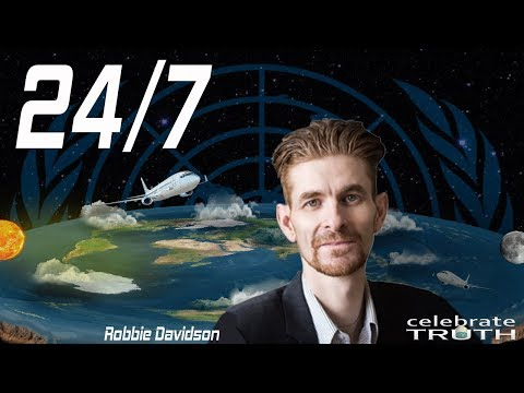 Flat Earth & The Bible 24/7 | Exposing the World's Lies with Robbie Davidson thumbnail