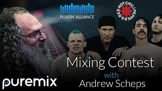 pureMix Mixing Contest Featuring Red Hot Chili Peppers and Andrew Scheps