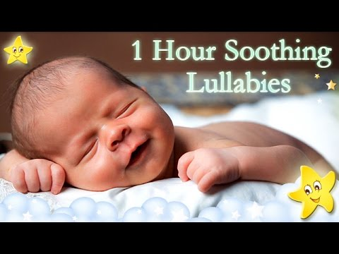 1 Hour Relaxing Baby Lullaby Collection ♥♥♥ Soothing Bedtime Music For Kids ♫♫♫ Good Night Sleep