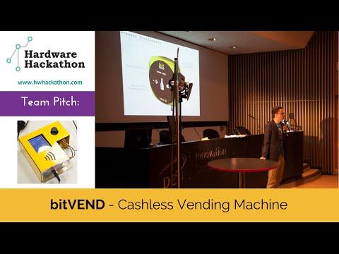 bitVEND Pitch (Dublin Hardware Hackathon 2014) #HackDublin
