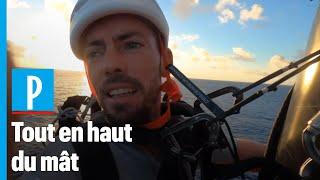 Vendéee globe : quand les skippers réparent leur mât à 30 m de hauteur