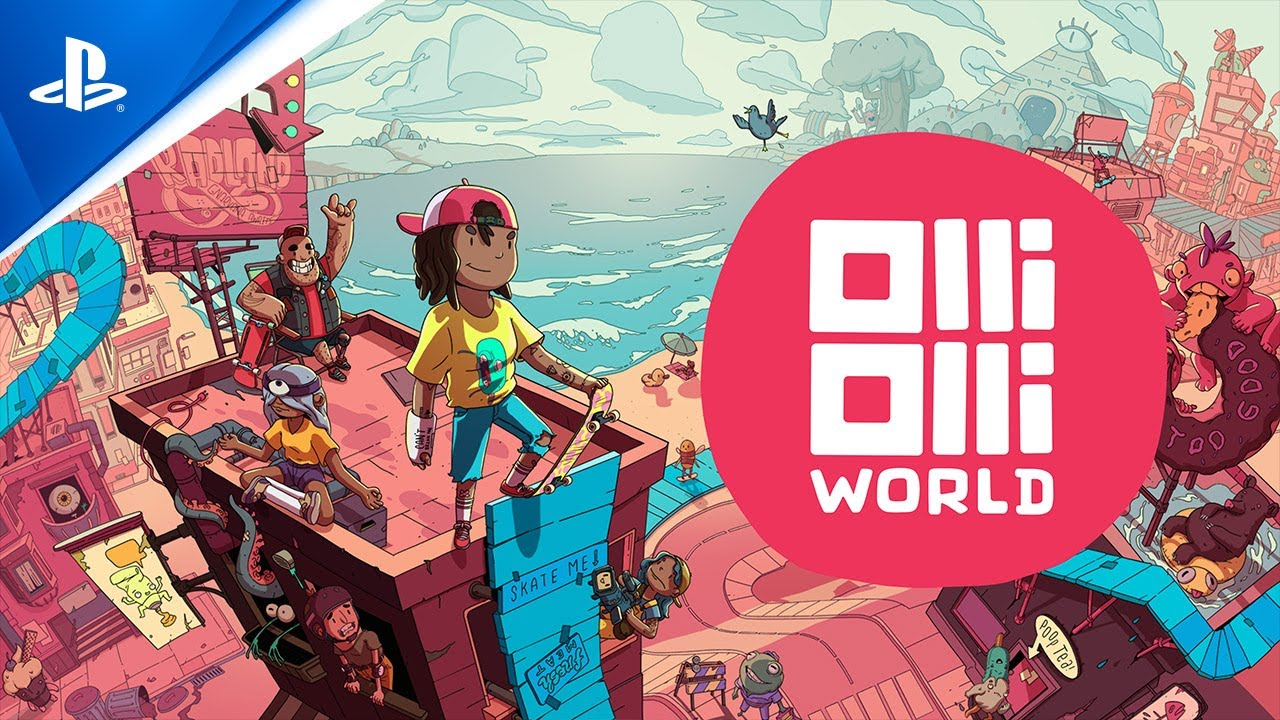 OlliOlli World reveal trailer