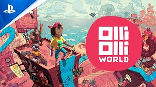 OlliOlli World – Official Reveal Trailer | PS5, PS4